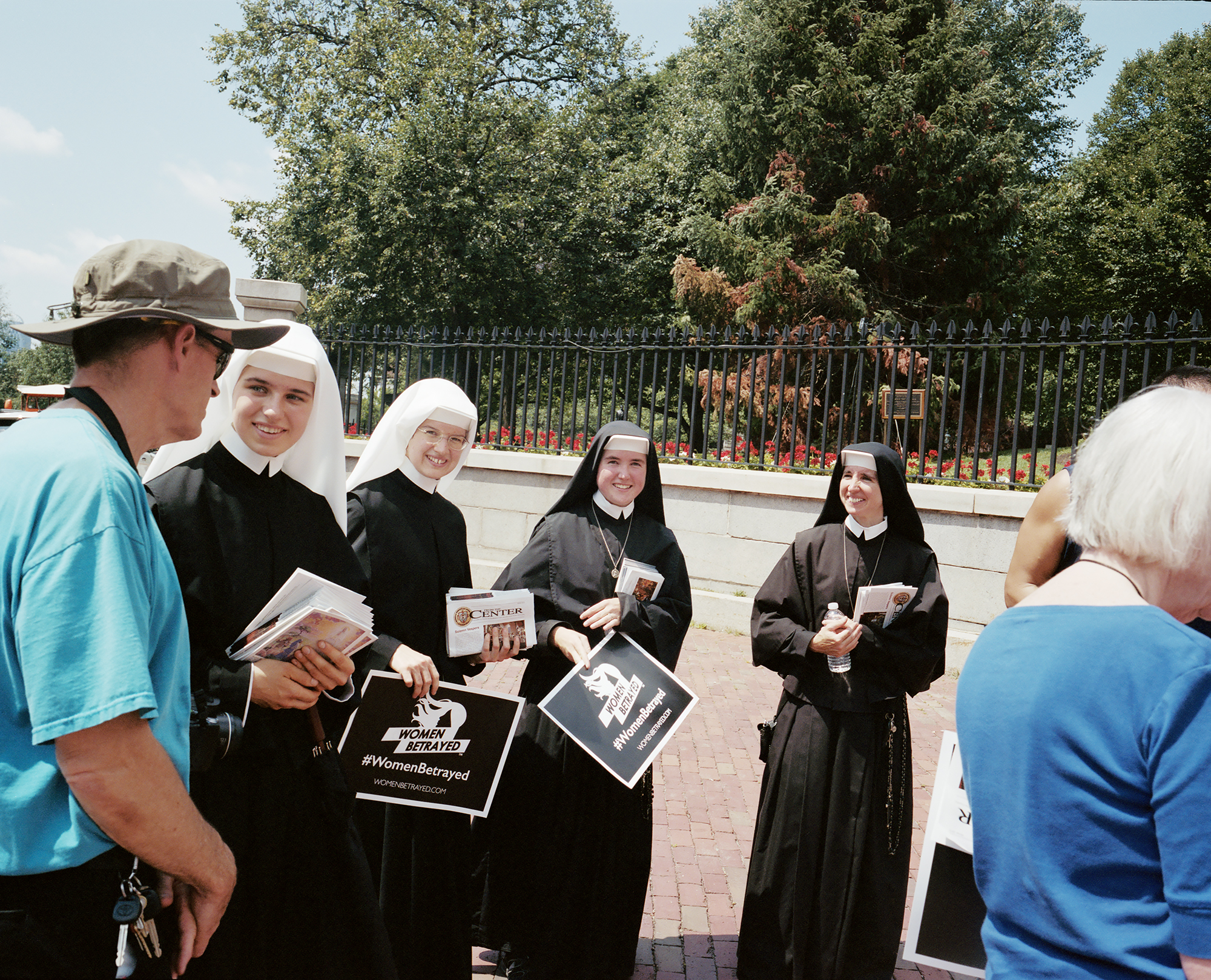 #Womenbetrayed Nuns. Boston, MA