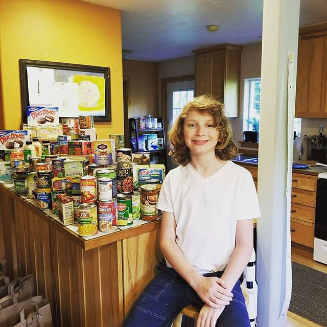 Check out one of our awesome Homeschool PE kids! Spencer is being featured on @king5evening  magazine tonight for his 9 year long commitment to collecting food for our local @swgoodcheer  food bank! SO proud of you, buddy! Check out his cause here: https://m.facebook.com/spencerswhidbeyfooddrive/?tsid=0.11258000714280114&source=result  #nextgeneration #foodbank #thebackyardkids #fooddrive #community