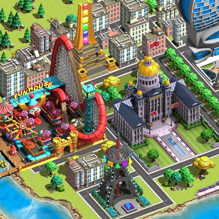 Minitropolis developed by Idol Minds. Published by ZQGame, Inc.