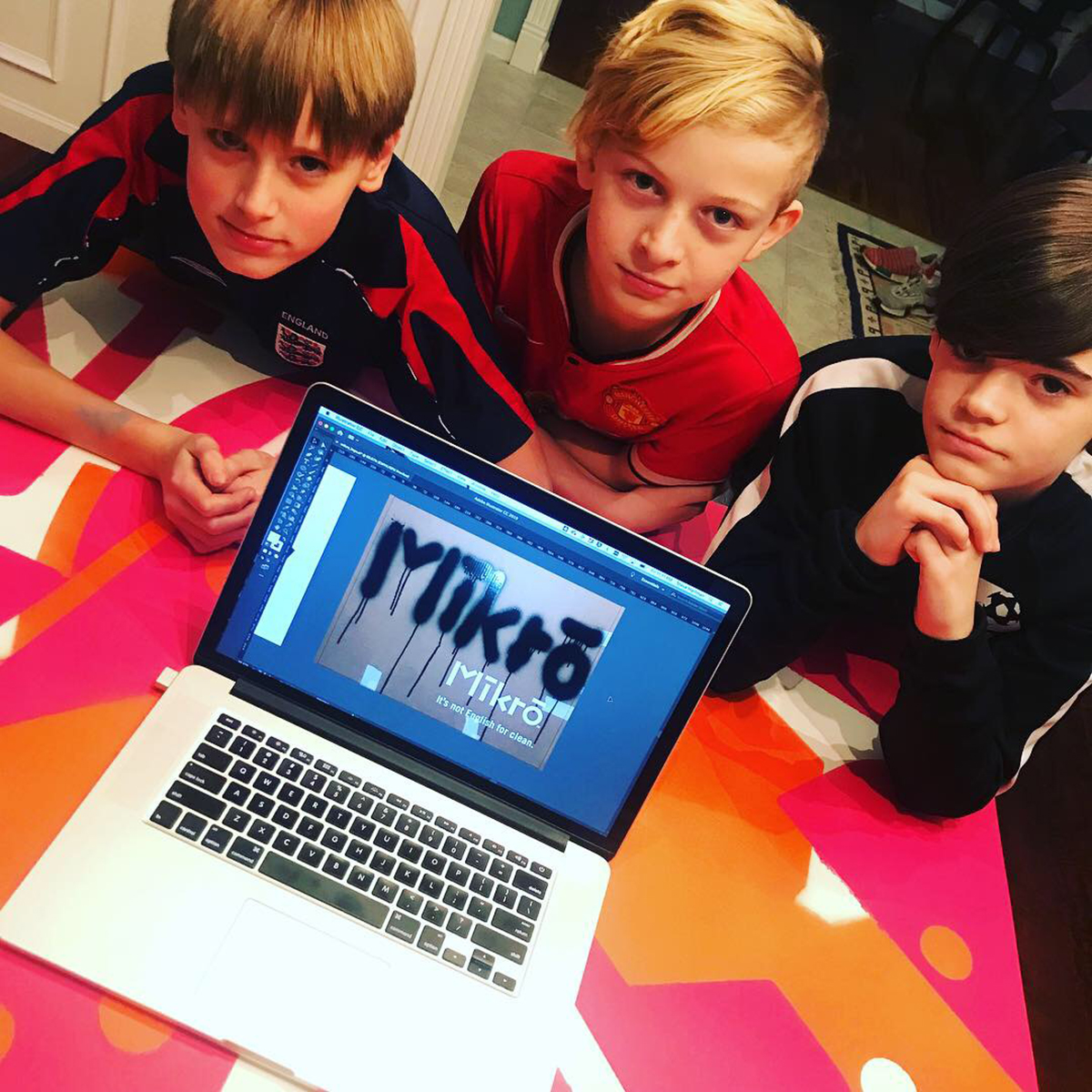 Noah. Connor. Cameron. Three teens with an idea.