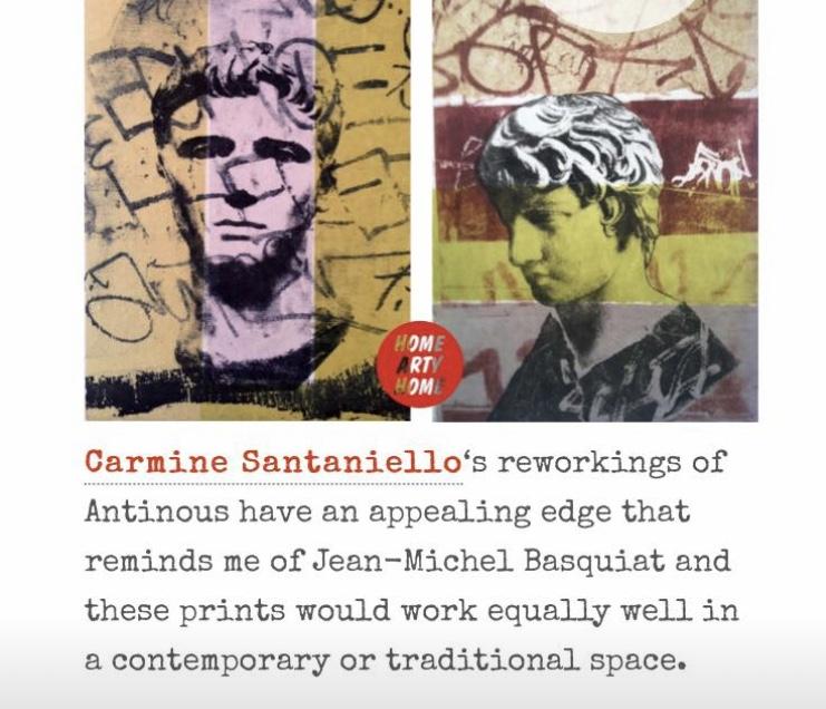 Home Art Home    http://homeartyhome.com/tag/carmine-santaniello/