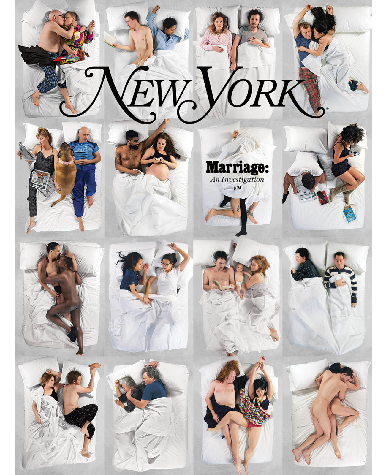 Marriage: An Investigation - Photographed by New York Magazine