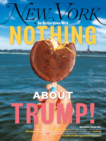 An Entire Issue With Nothing About Trump - Photographed by David Williams