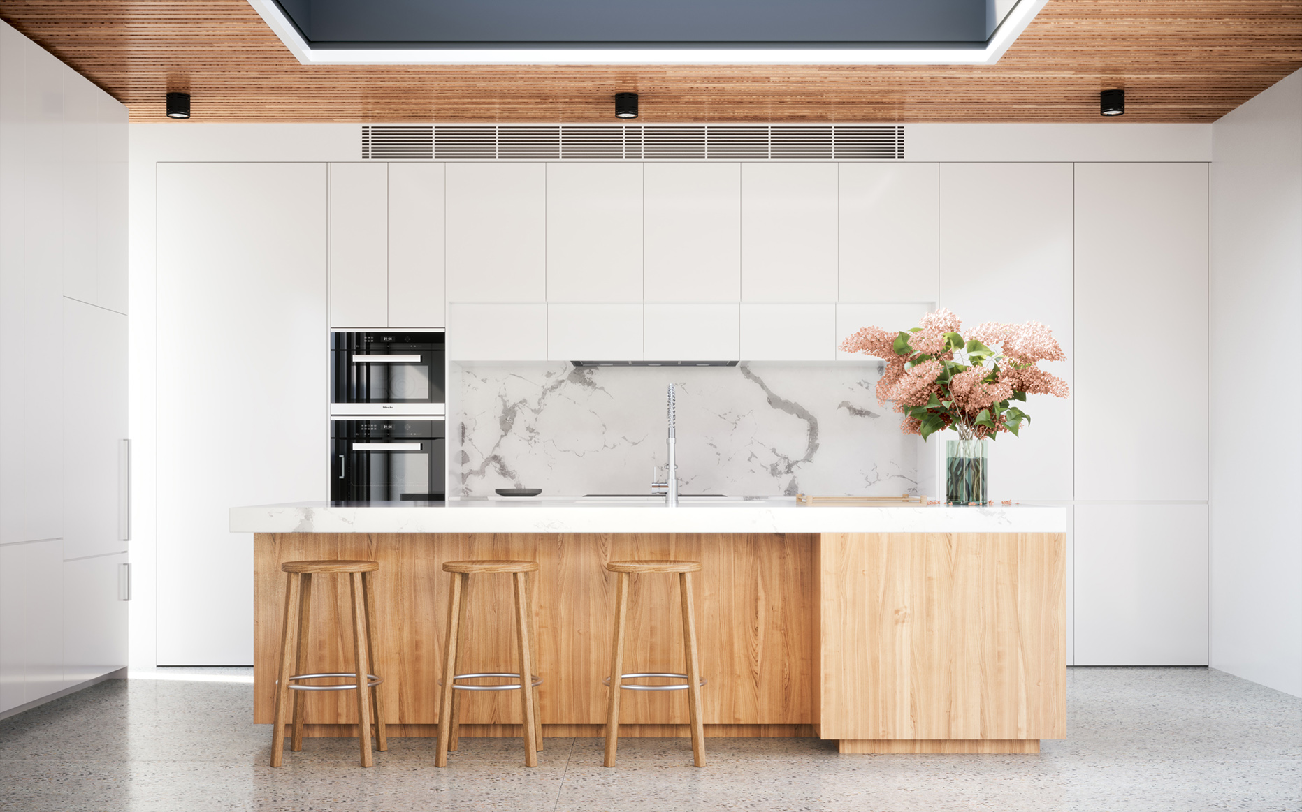 FIGR Courtyard House Kitchen