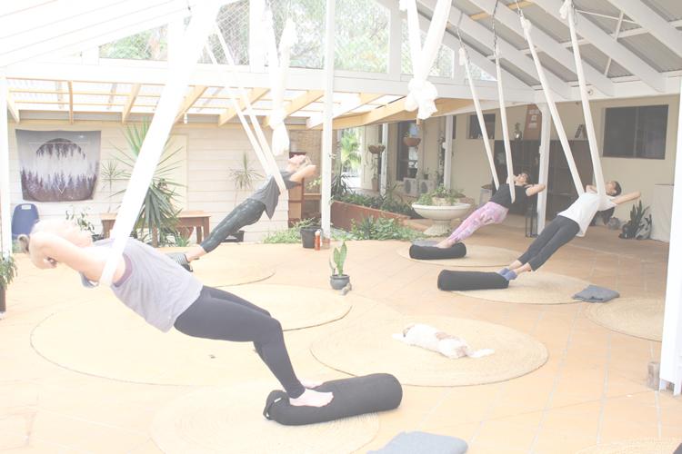 Aerial Yoga Brisbane Earth Love Yoga