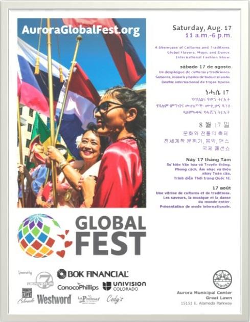 City of Aurora's Global Fest  official website