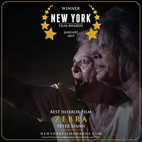ZEBRA, a horror short I wrote won Best Horror at an Nyc film festival. Shout-out to the awesome director Peter Spann & cast/crew 🙌🔥👏 @peterspann  #shortfilm #screenwriter #screenwriterslife #film #indiefilm #screenwriterslife #horror #horrorshortfilm #horrorfilm