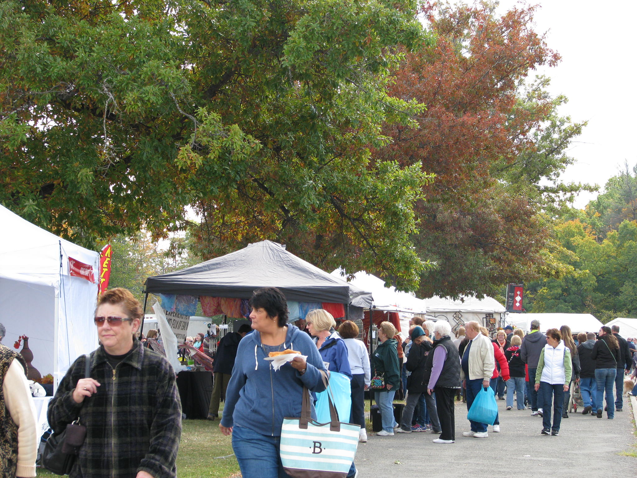 LETCHWORTH ARTS AND CRAFTS SHOW IS A SIGNATURE EVENT PRESENTED BY THE ACWC.  IT ATTRACTS BETWEEN 60 -90,000 PEOPLE EACH YEAR.JPG