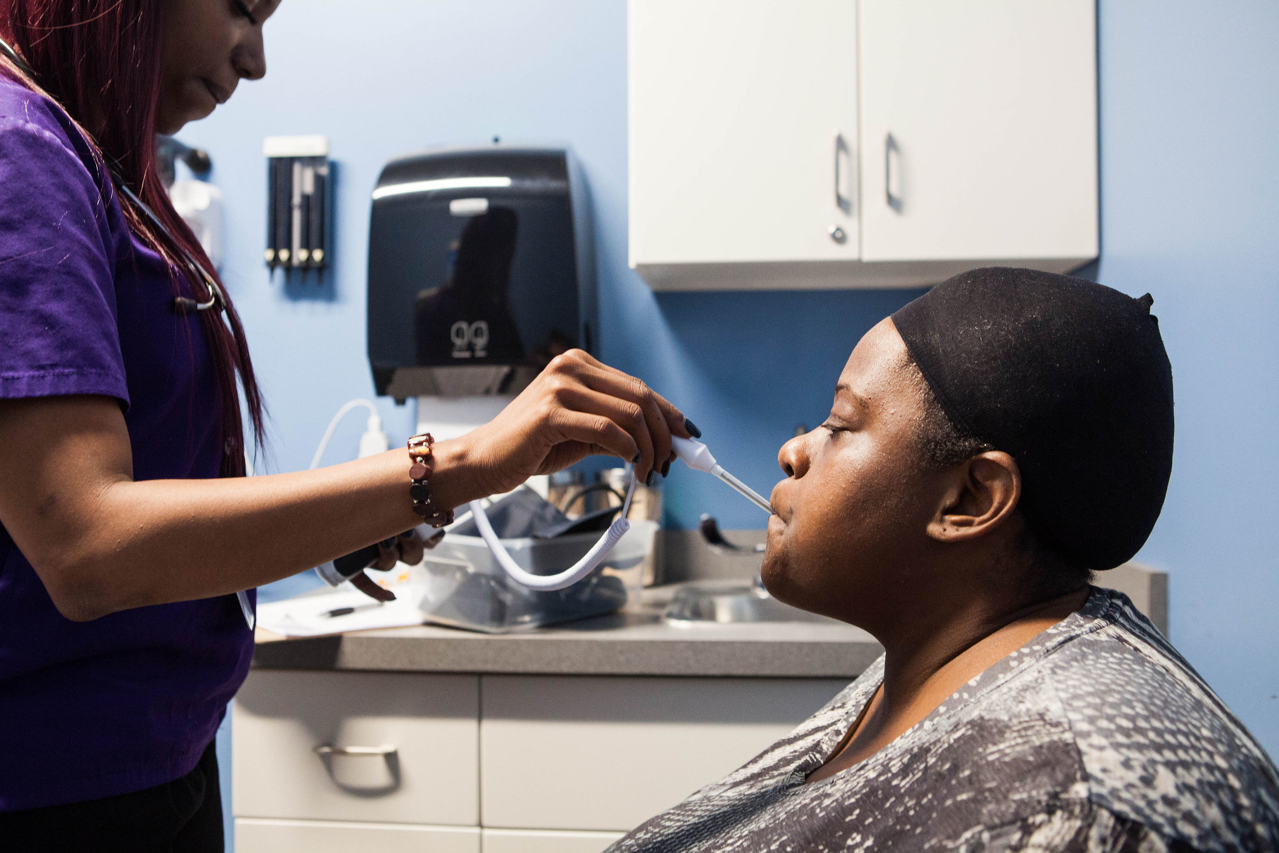 Nurse-patient interaction at Broadway clinic.jpg