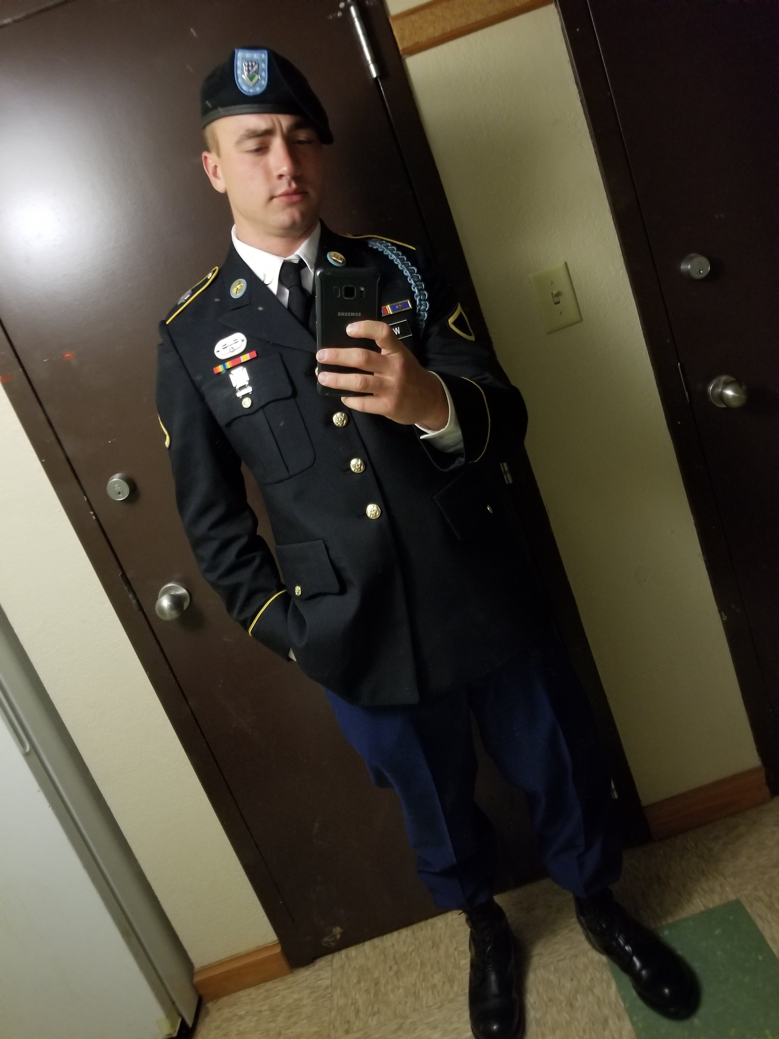 One of our own in the Army!.jpg