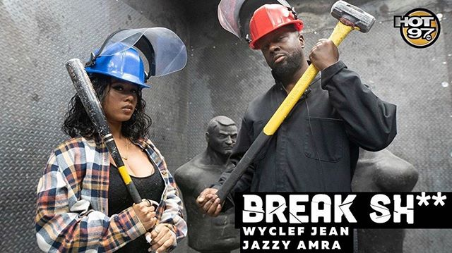 Check out the new episode of @break_shit featuring @wyclefjean and @jazzyamra with your favorite host @djjuanyto. @mono_serrano @hot97 www.BreakBarNYC.com #hudsonyards #hudsonyardsnyc #hellskitchen #thingstodoinnyc #msg #madisonsquaregarden #javitscenter #timesquare #midtownwest #nyc #nycphotographer #newyork #newyorkcity #manhattan #nycrestaurants #nyceventplanner #nycgraffiti #nycgo #nycbars #thebreakbar #break #wyclef #wyclefjean #hot97 #shotbycap
