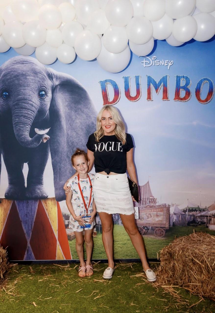 Dumbo premiere | Dannii