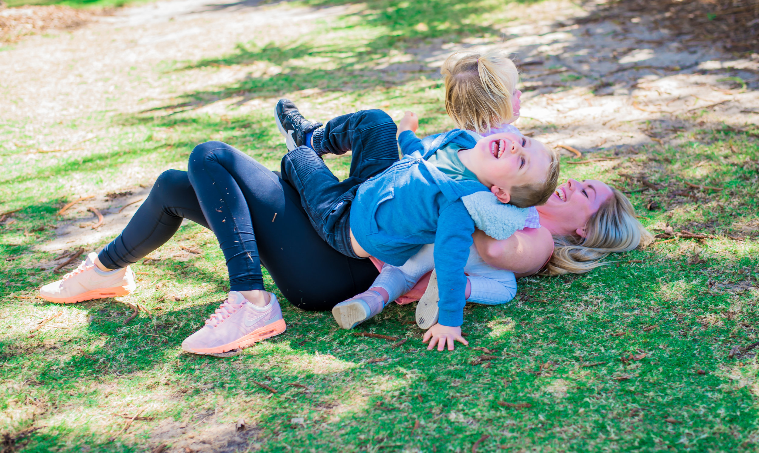 Sarah Male with Kids | Gold Coast Personal Trainer.jpg