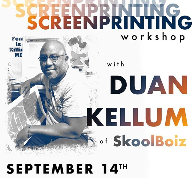 SATURDAY, SEPTEMBER 14th!!! From 12-3pm. It's the return of our screen printing workshop with @skoolboiz! This class will sell out so sign up fast! Link in bio. . . . #redlands #redlandsca #workshop #artworkshop #screenprinting #screenprintingworkshop #redlandsartscene #theartlands #skoolboiz #ieart #inlandempire #inlandempireart #inlandempire #socalart