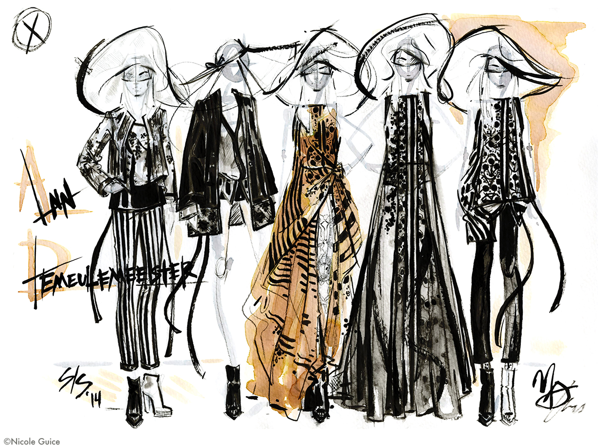 Ann Demeulemeester_ Fashion illustration SS14 _Nicole Guice.jpg