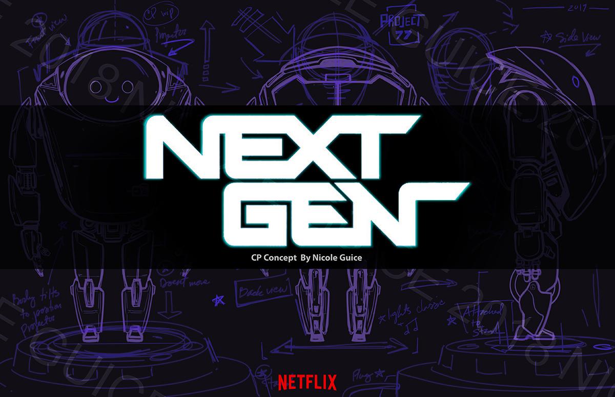 Netflix's Next Gen - CP Concept Spec work