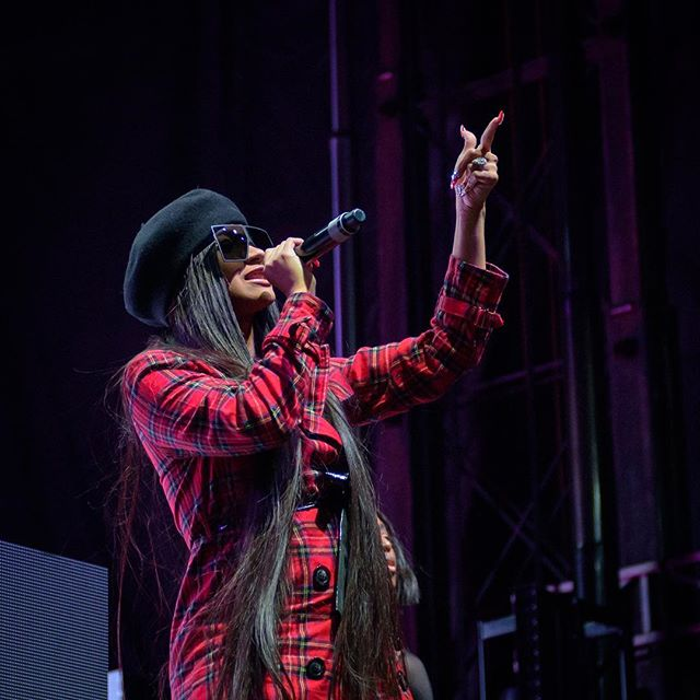 Cardi B performs during the Day for Night music and art festival in Houston, December 16, 2017. @iamcardib @dayfornightfest . . . . . . #concert #cardib #concertphotography #dayfornight #d4n2017 #dayfornight2017 #d750 #festivalphotography #firstthreesongs #ilovehou #livemusic #musicfestival #musicphotography #nikond750 #nikonnofilter #nikonusa #outdoor #teamnikon