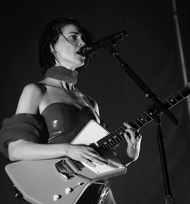 St. Vincent performs during the Day for Night music and art festival in Houston, December 17, 2017. @dayfornightfest @st_vincent . . . . . . #concert #concertphotography #dayfornight #d4n2017 #dayfornight2017 #d750 #festivalphotography #firstthreesongs #ilovehou #livemusic #musicfestival #musicphotography #nikond750 #nikonnofilter #nikonusa #outdoor #teamnikon #masseduction #stvincent