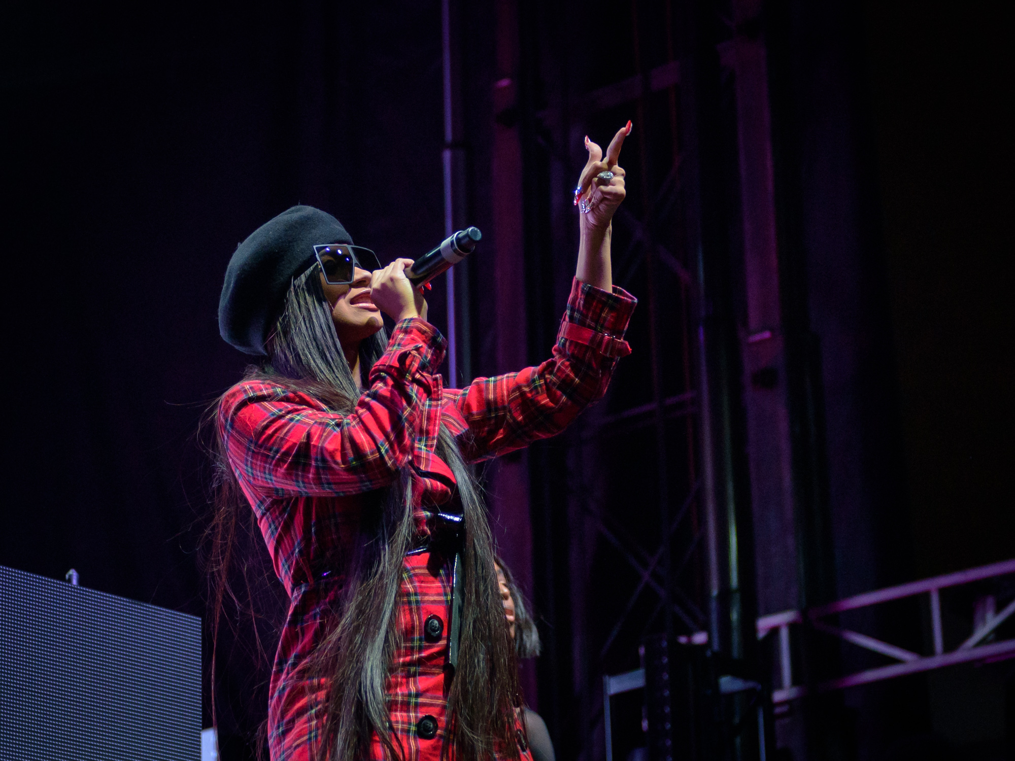 Cardi B performs during Day for Night Music and Art Festival, Houston, TX. December 16, 2017