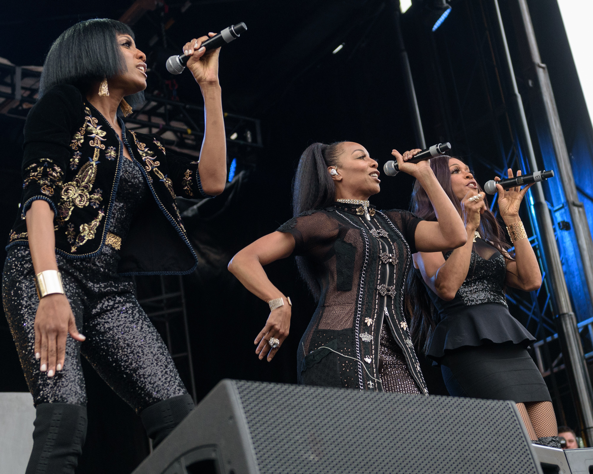 En Vogue performs during Day for Night Music and Art Festival, Houston, TX. December 17, 2017