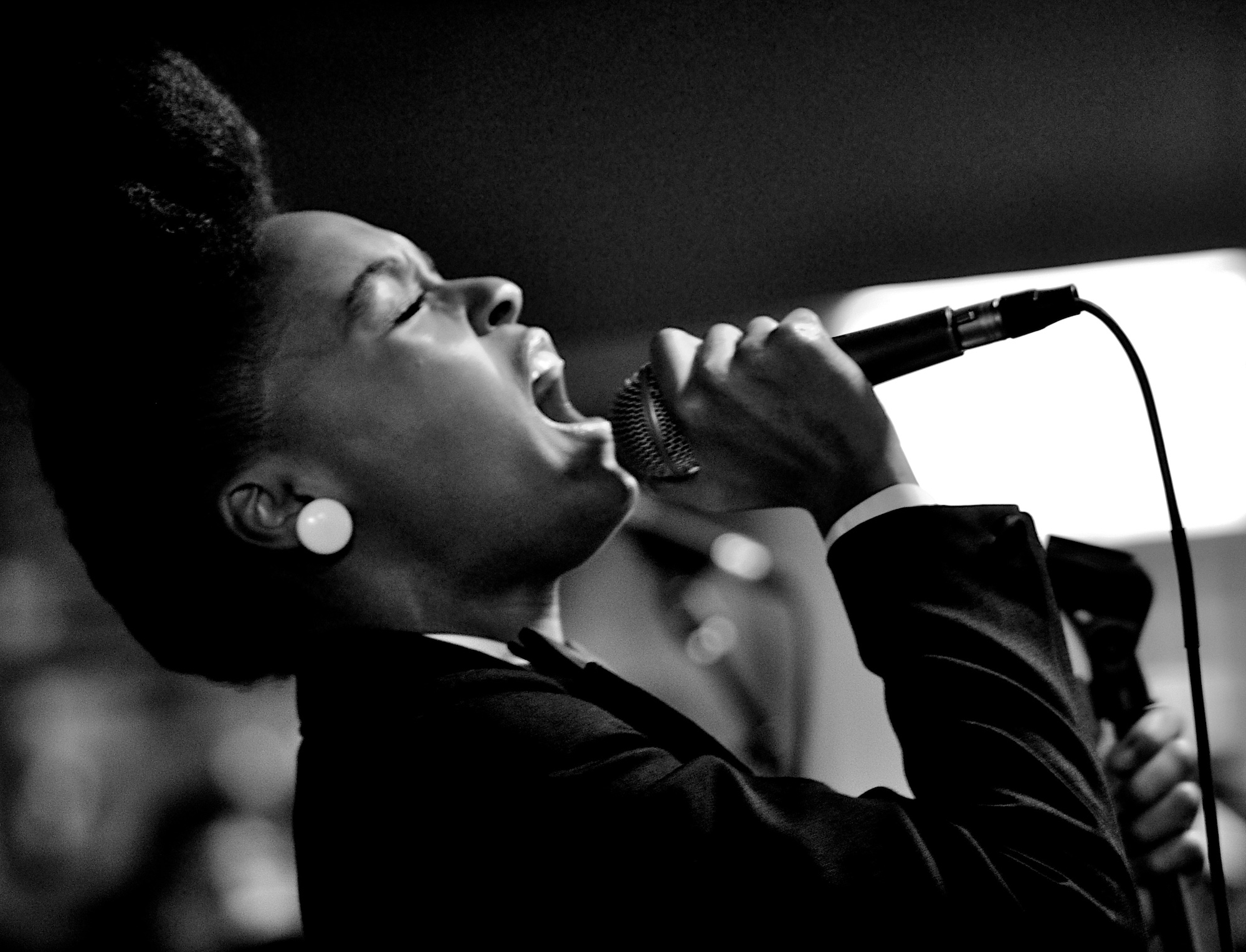 Janelle Monáe performs at Cactus Music. June 13, 2010