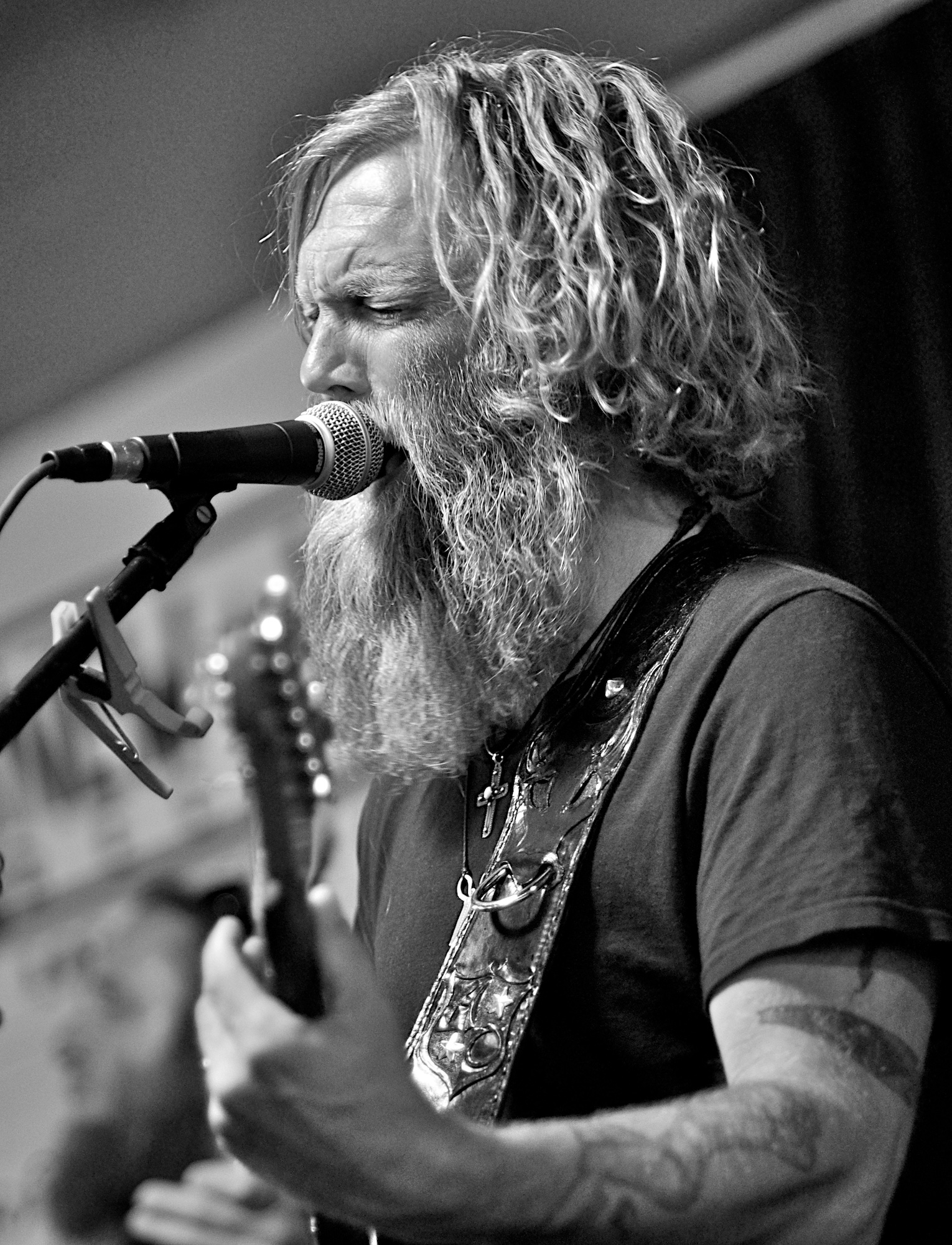 Anders Osborne performs at Cactus Music. June 12, 2010