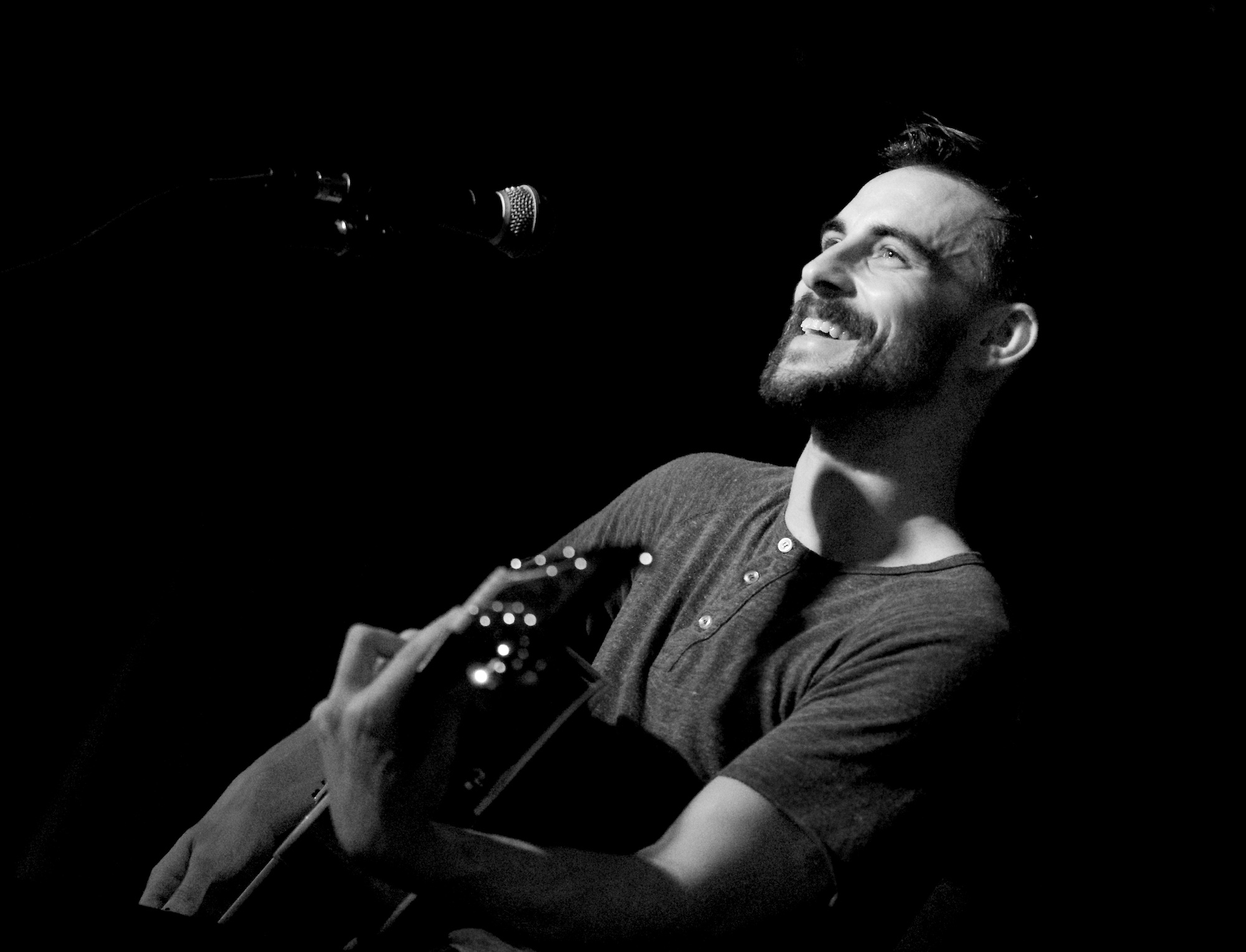 Robert Ellis performs at McGonigel's Mucky Duck, Houston, TX. May 22, 2014