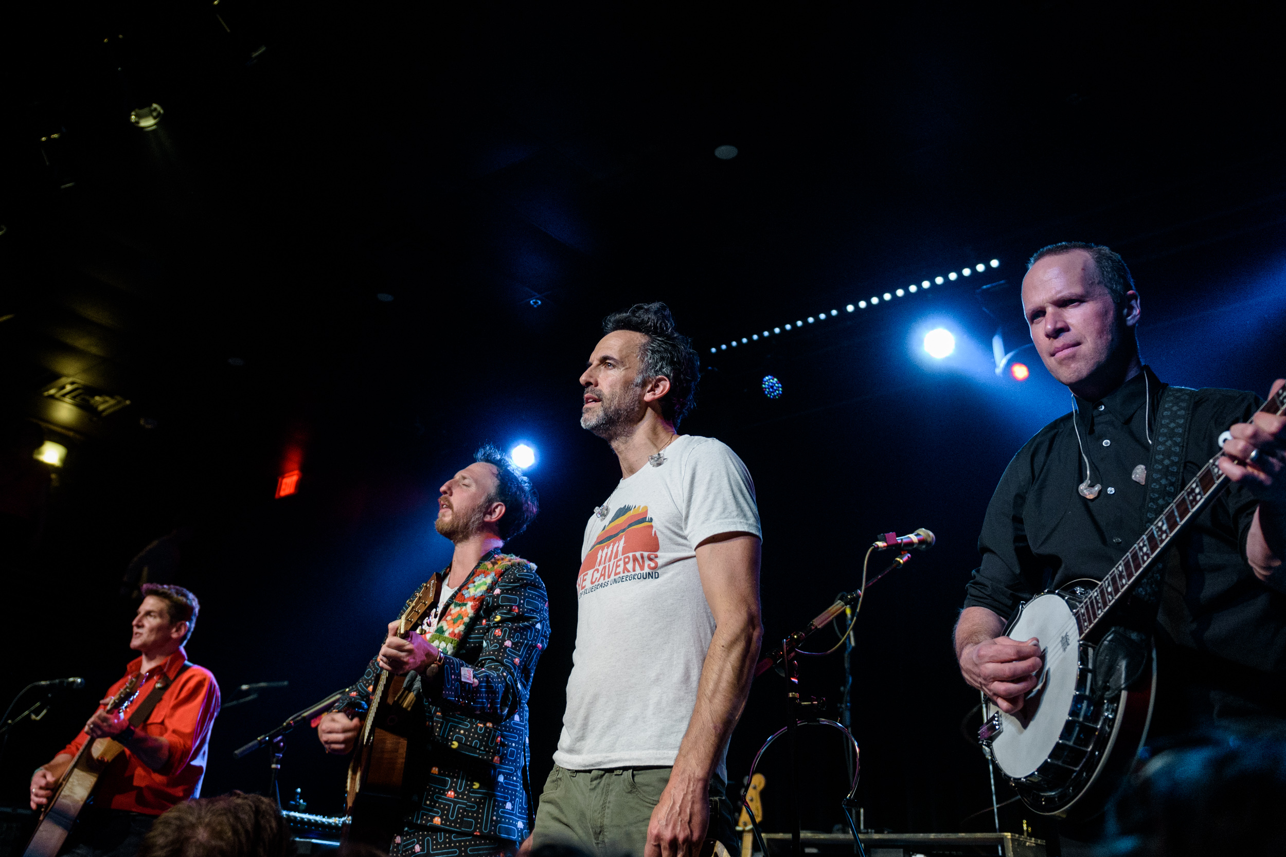 "Guster plays Houston - celebrating the 2019 ""Look Alive"" world tour of most of America and parts of Southern Canada"
