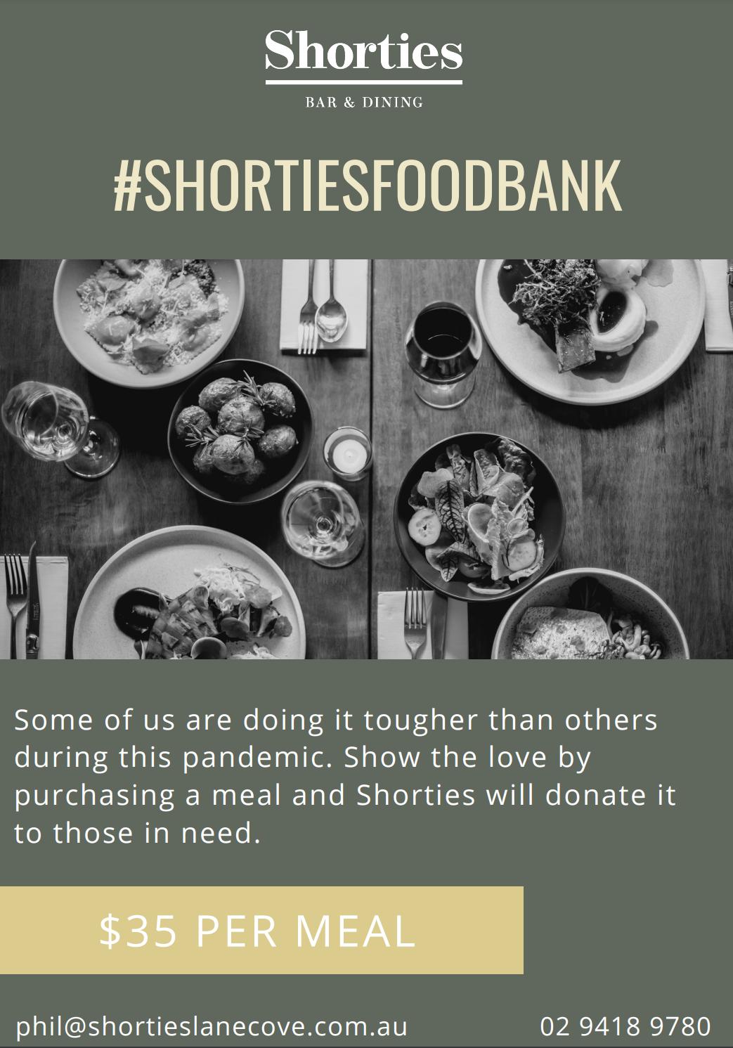 Shorties Foodbank