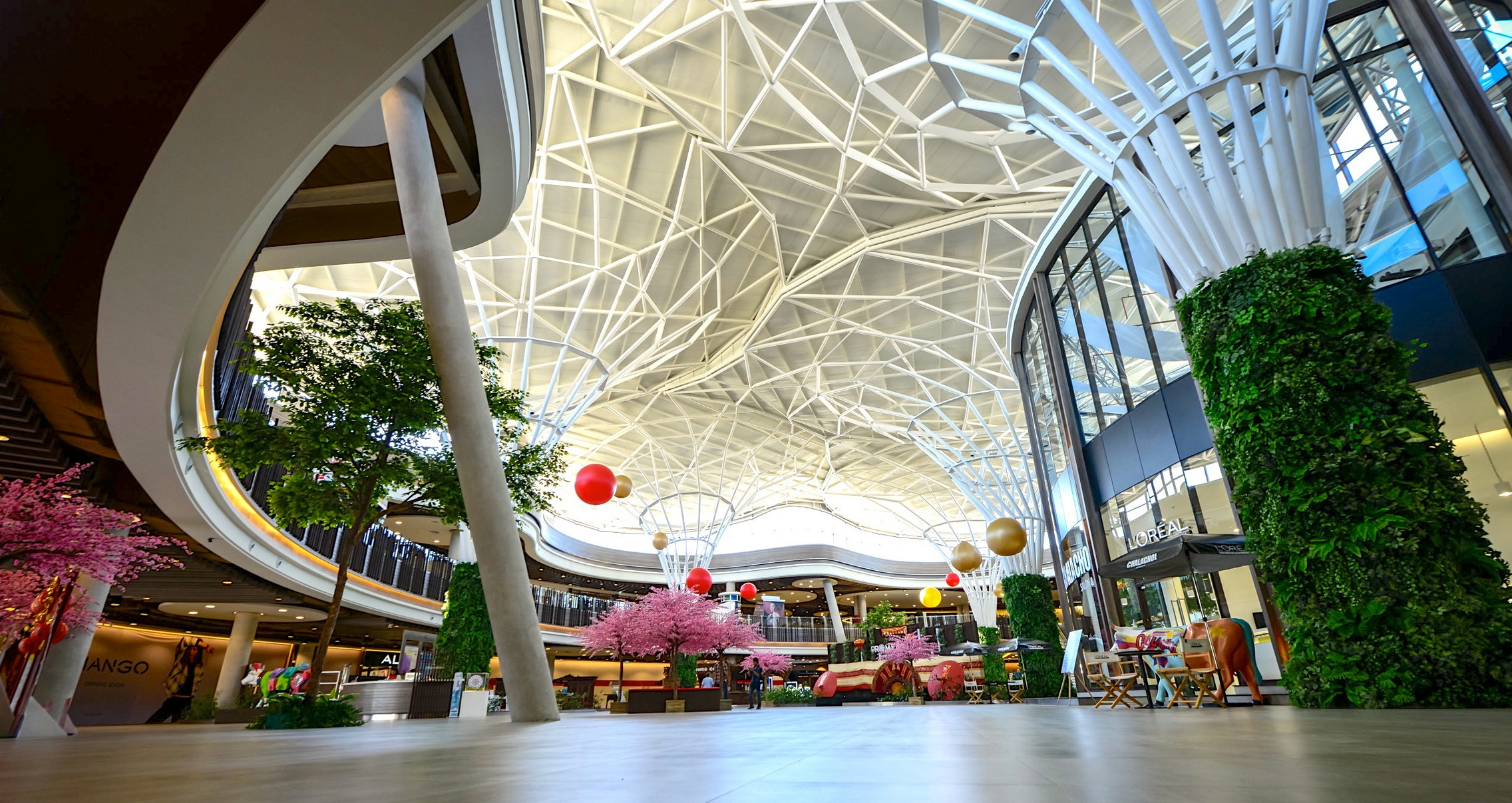 Shopping Mall, full Project Management, Design Management & Quantity Surveying services