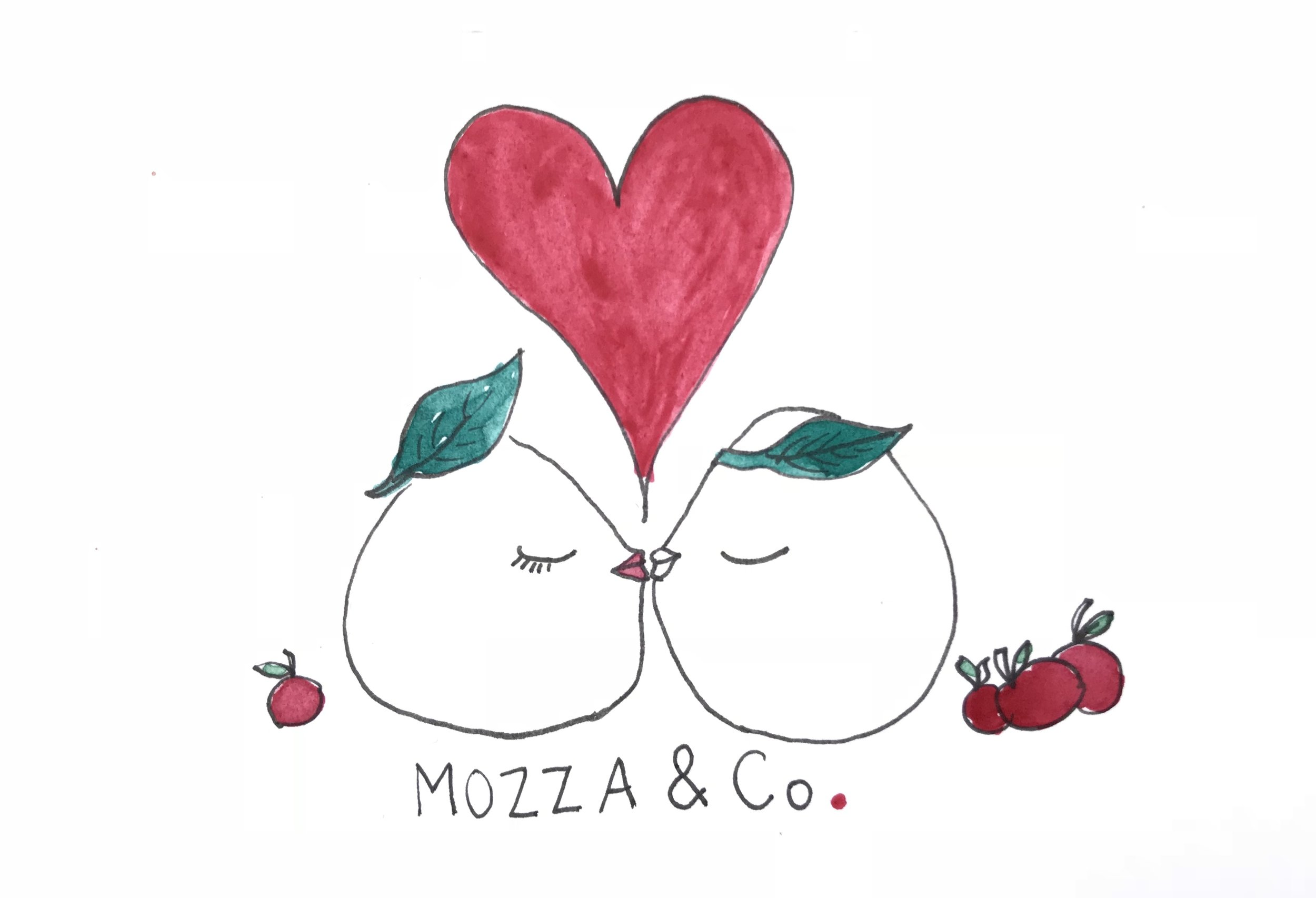 MOzza and co - communication visuelle pour la marque.