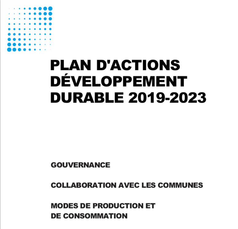Plan d'Action DD 2019