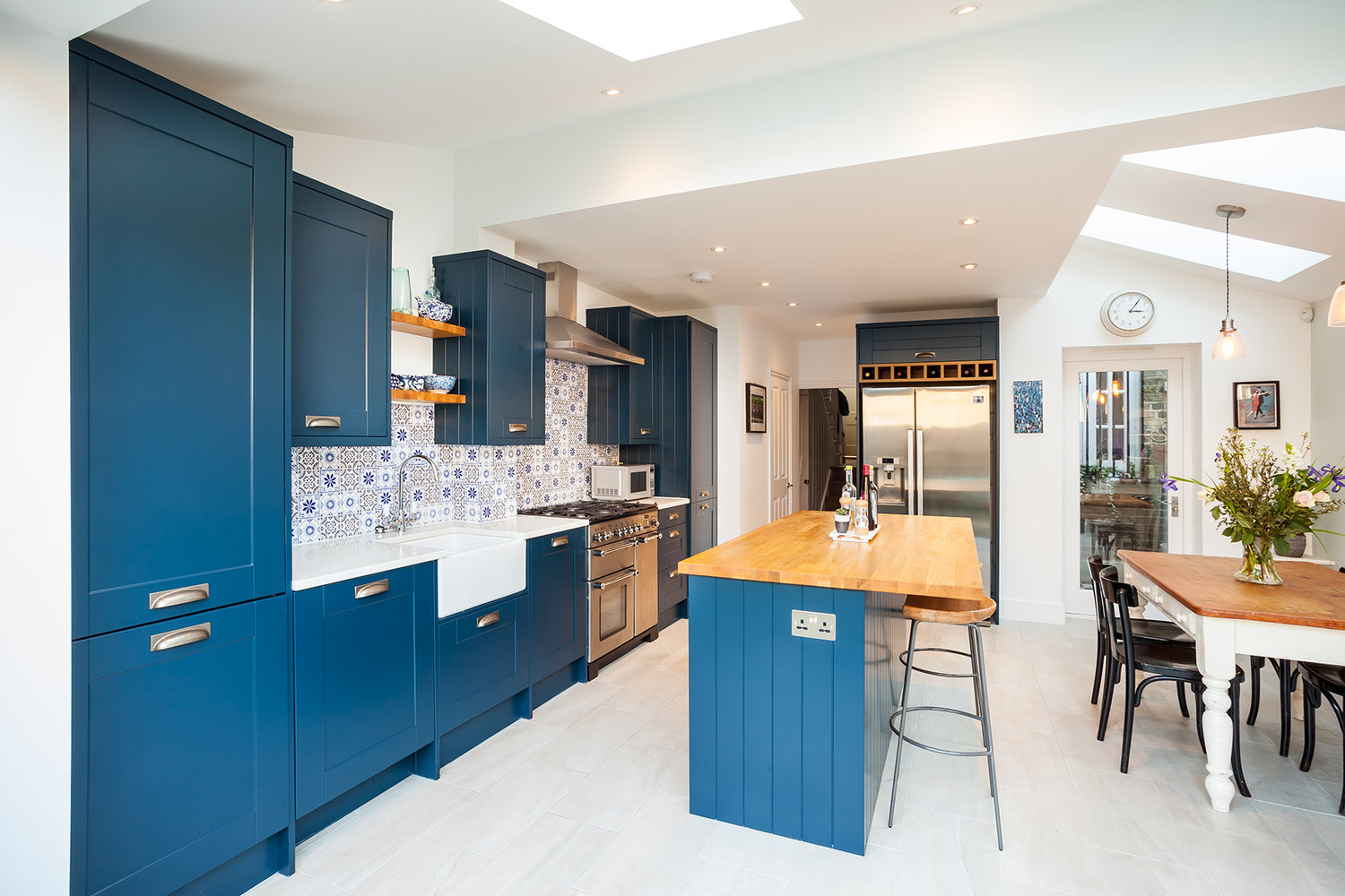 Read the story from our clients - Side Return House Conversion (Kitchen)