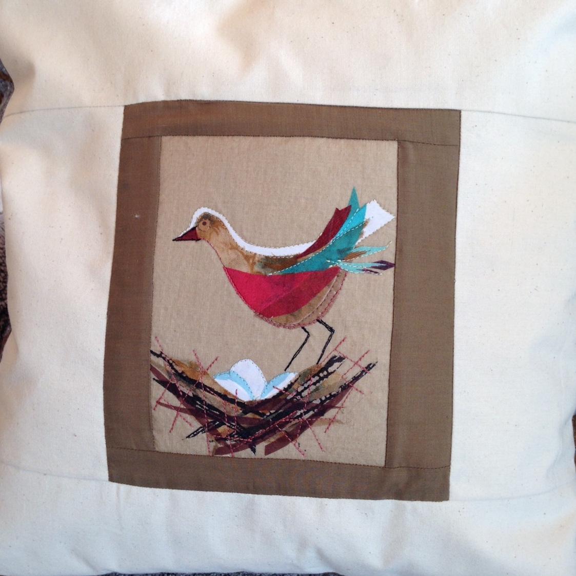 Jeanie Lander Textile Collages
