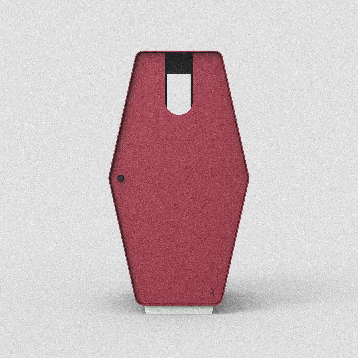 Inkast: Papper / Standardfärg: Lingon