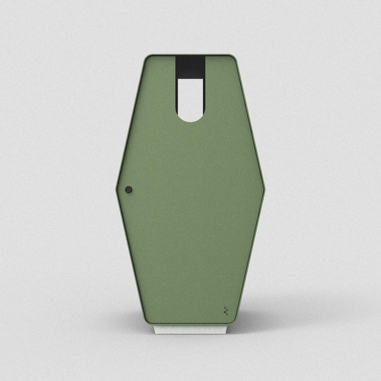 Inkast: Papper / Standardfärg: Mossa