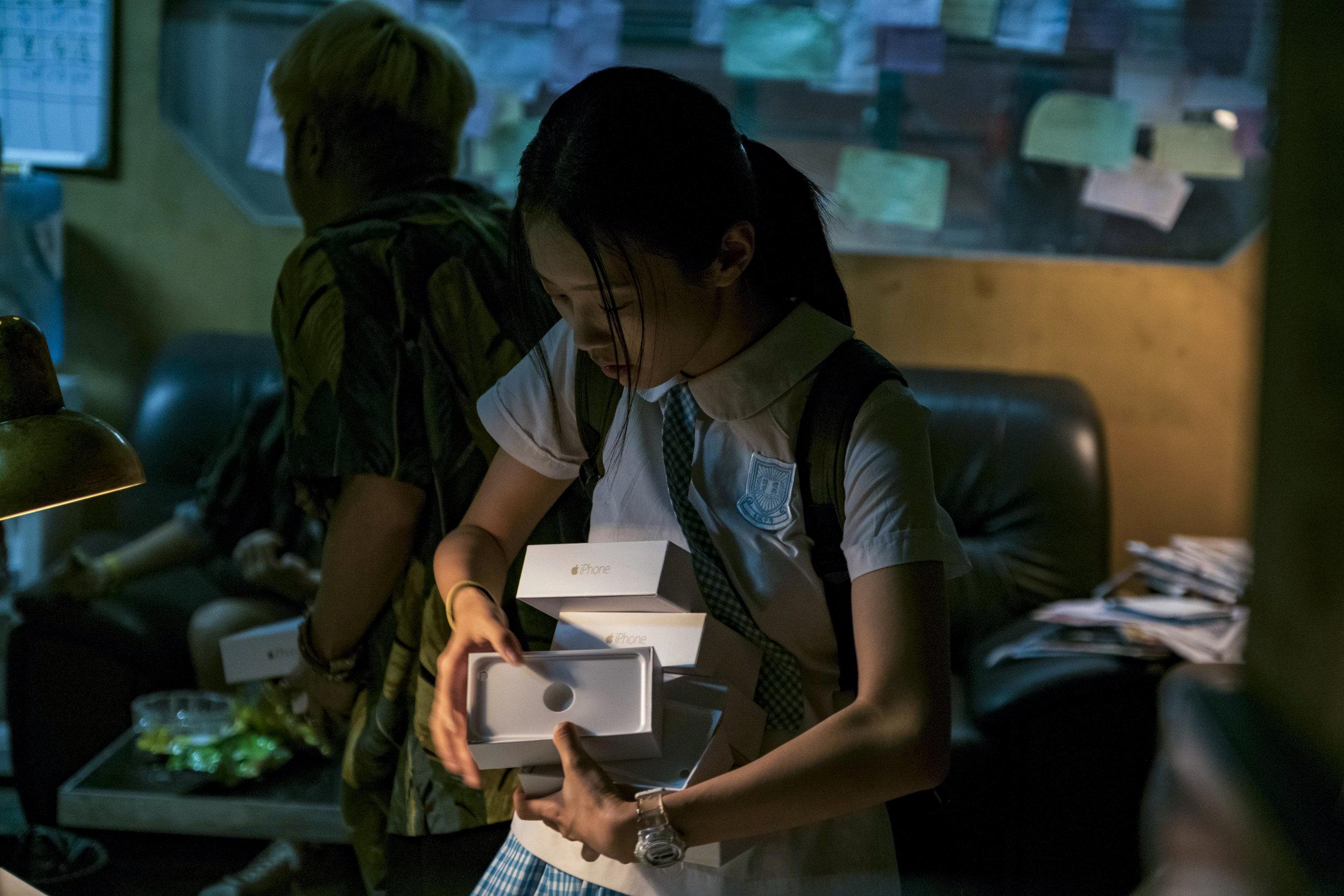 Huang Yao as Peipei in the store photo by Po-Wei Lin.jpg
