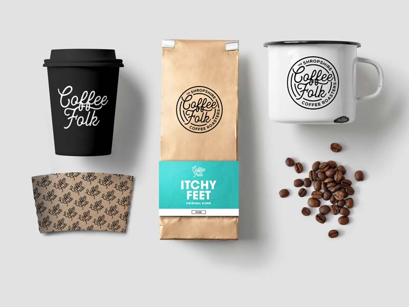 Coffee Folk<strong>Branding</strong>