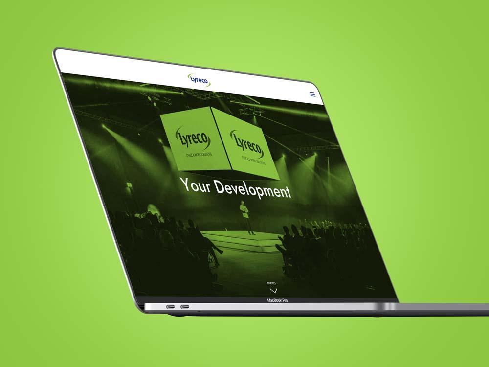 Lyreco<strong>Web Design</strong>