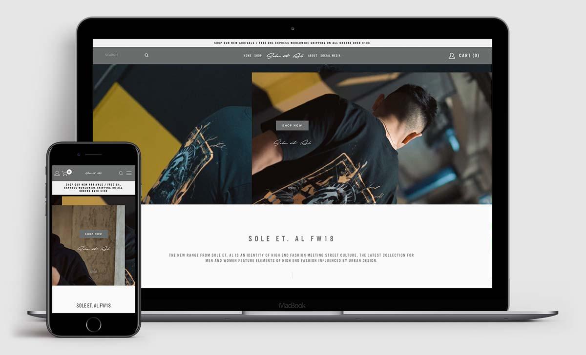 www.soleetal.co.uk - e-commerce