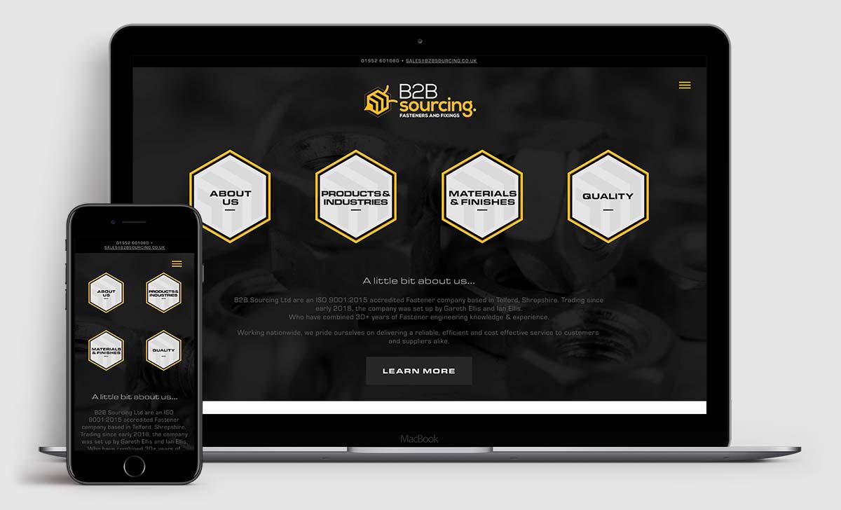 www.b2bsourcing.co.uk - Brochure site