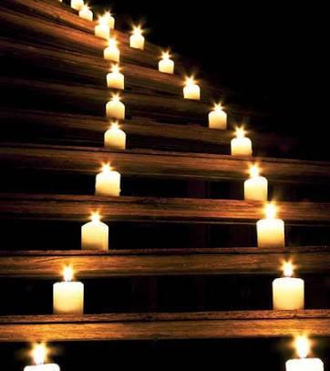 candles lining stairway.jpg