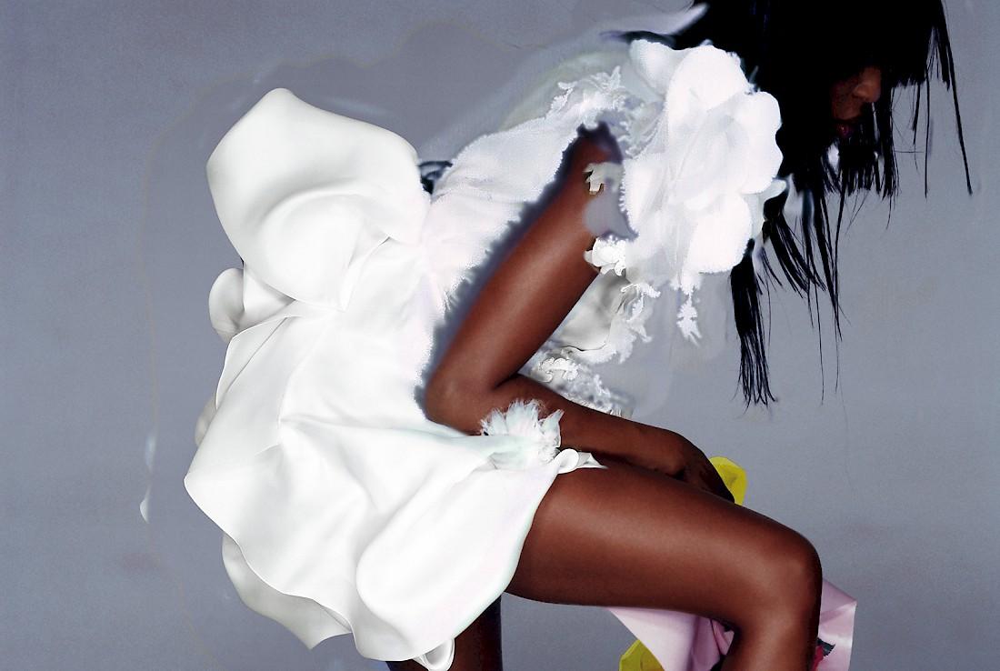 Couture, Naomi Campbell, V Magazine, 2007