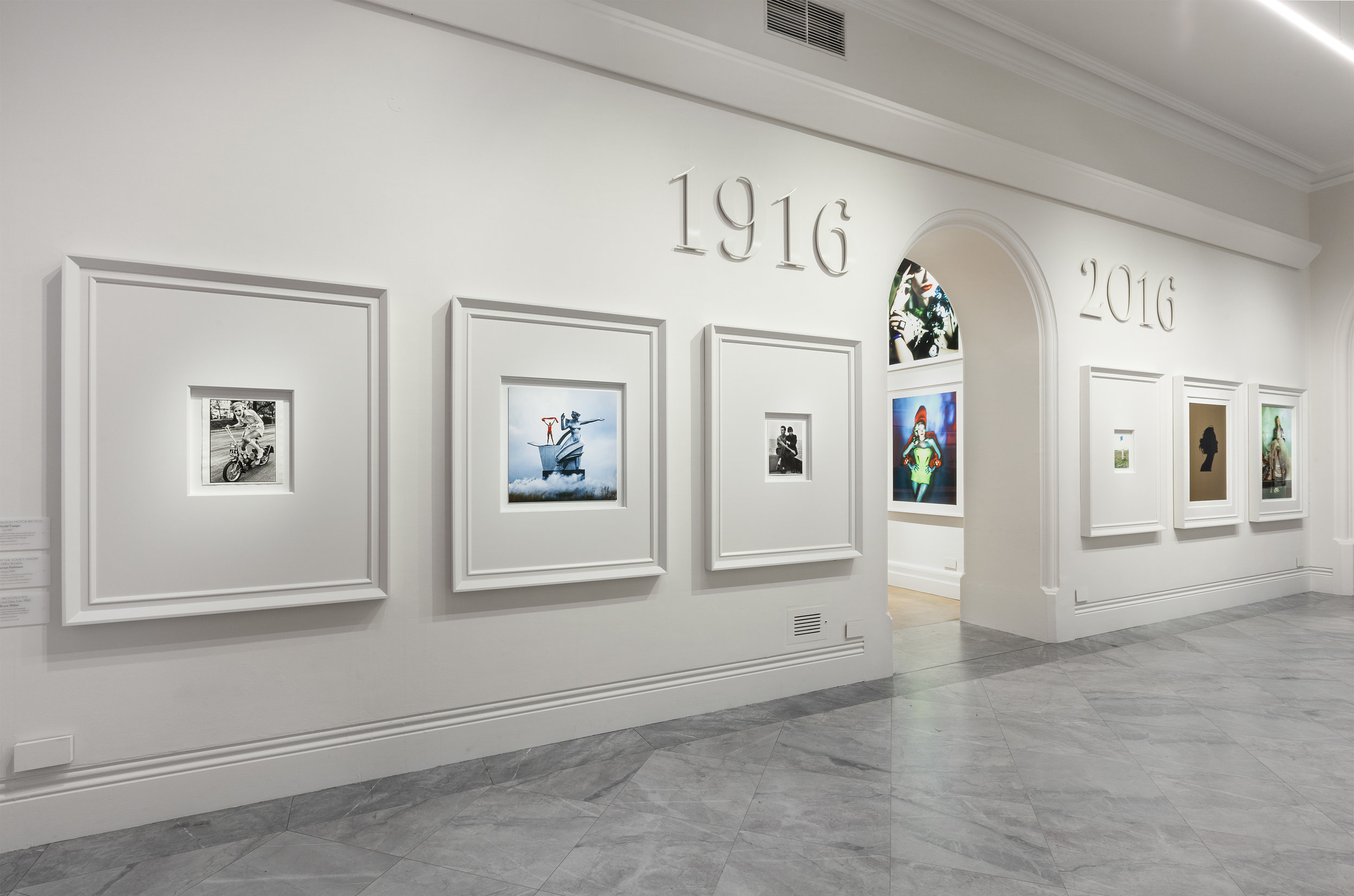 """Vogue 100"" exhibition at National Portrait Gallery, London, 2016"