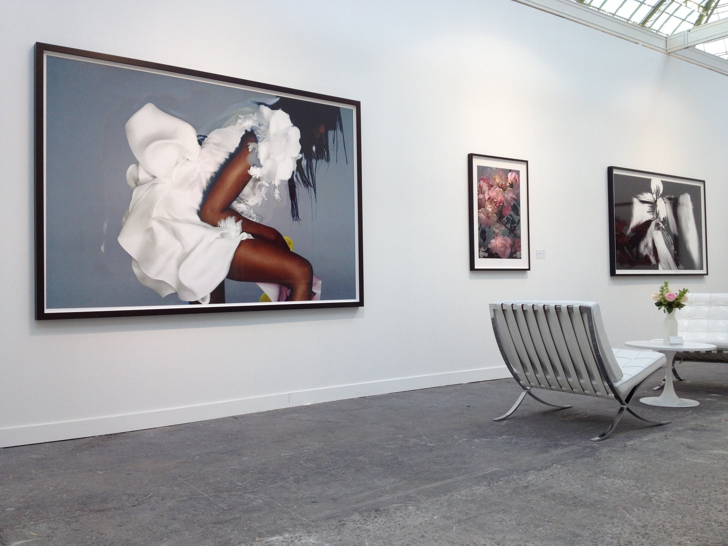 Nick Knight; Christophe Guye Galerie Booth, Paris Photo, Paris, 2015