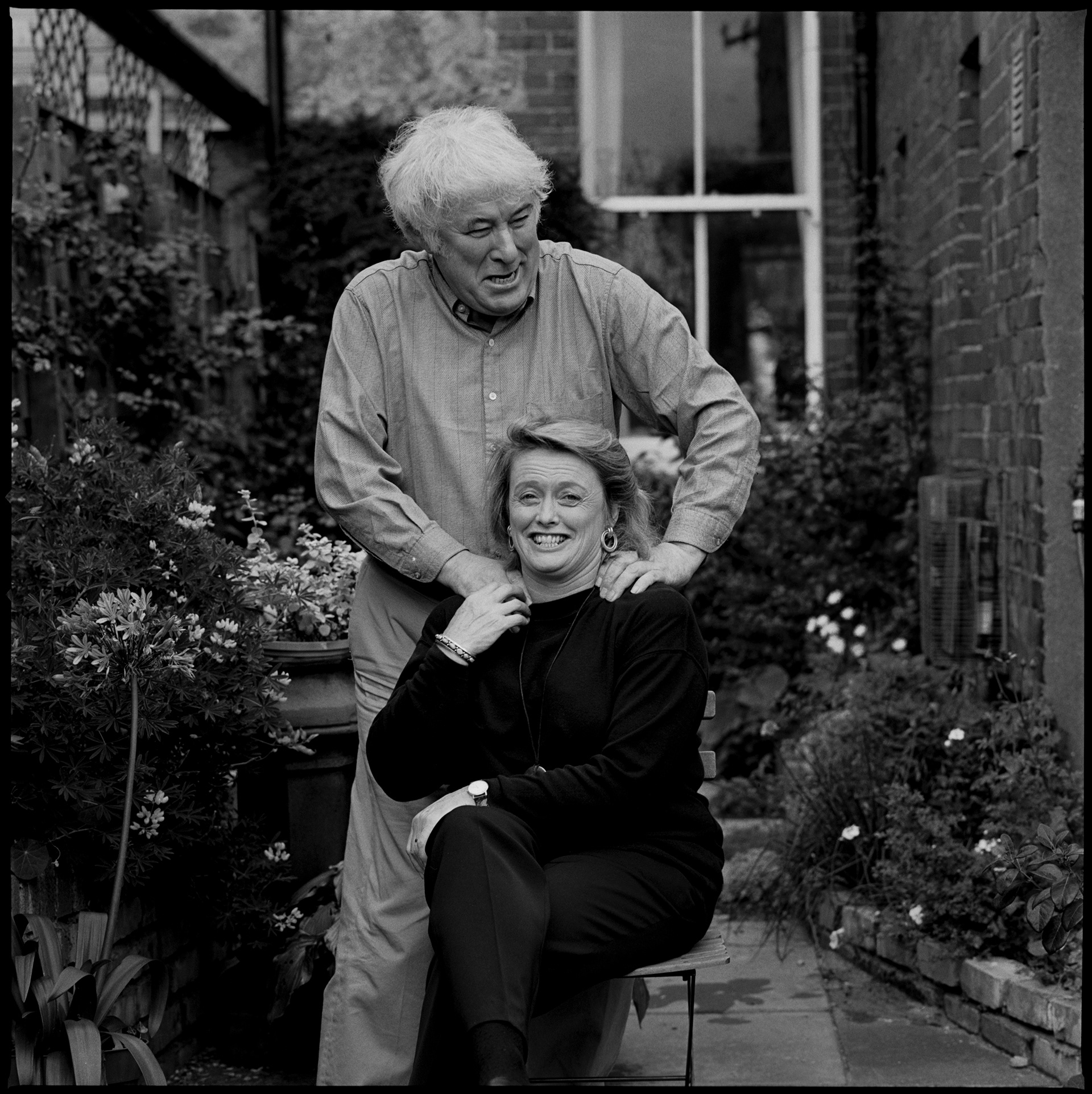Seamus Heaney, poet, and Marie Heaney, writer.