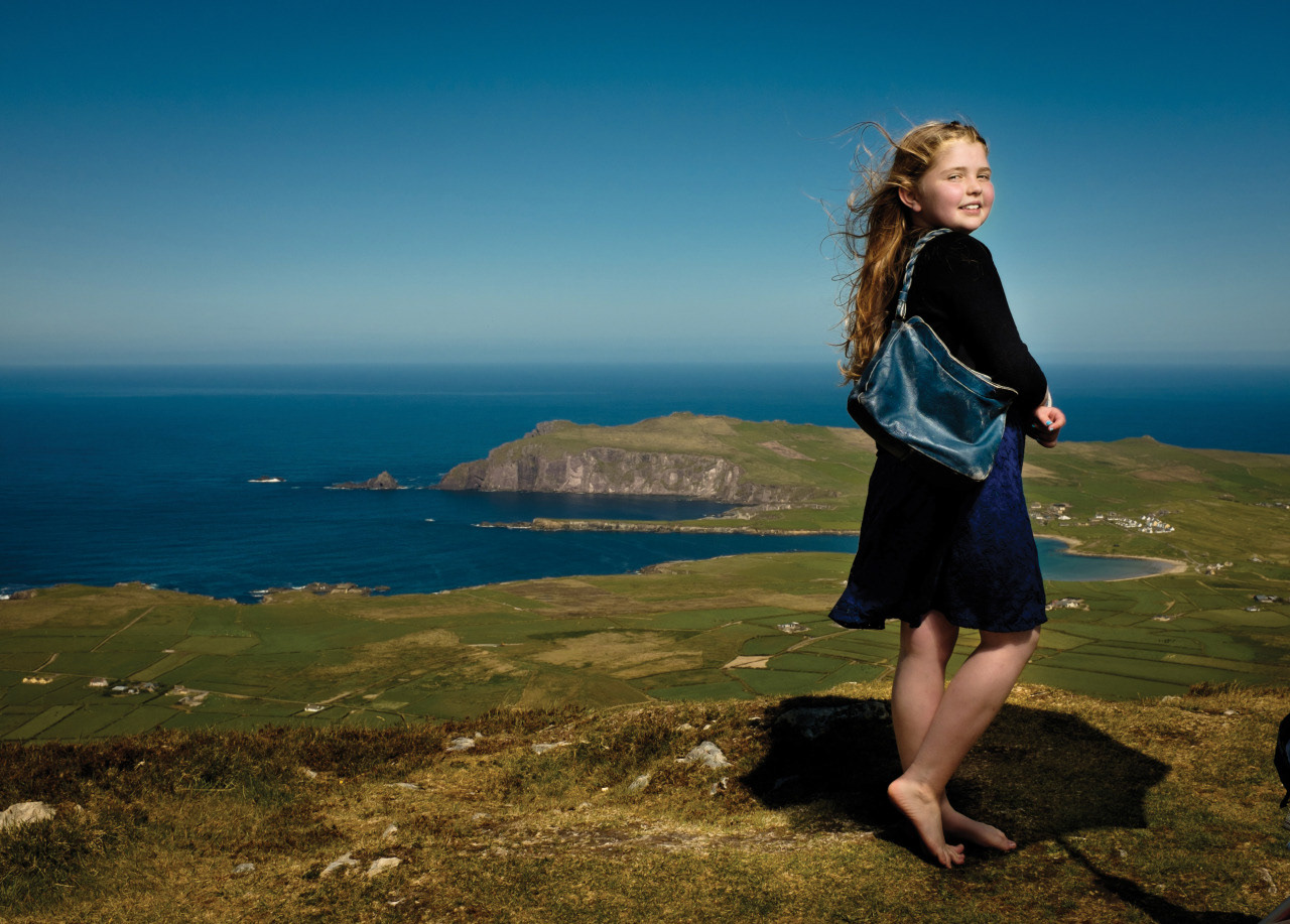 Emma in Dingle, County Kerry.