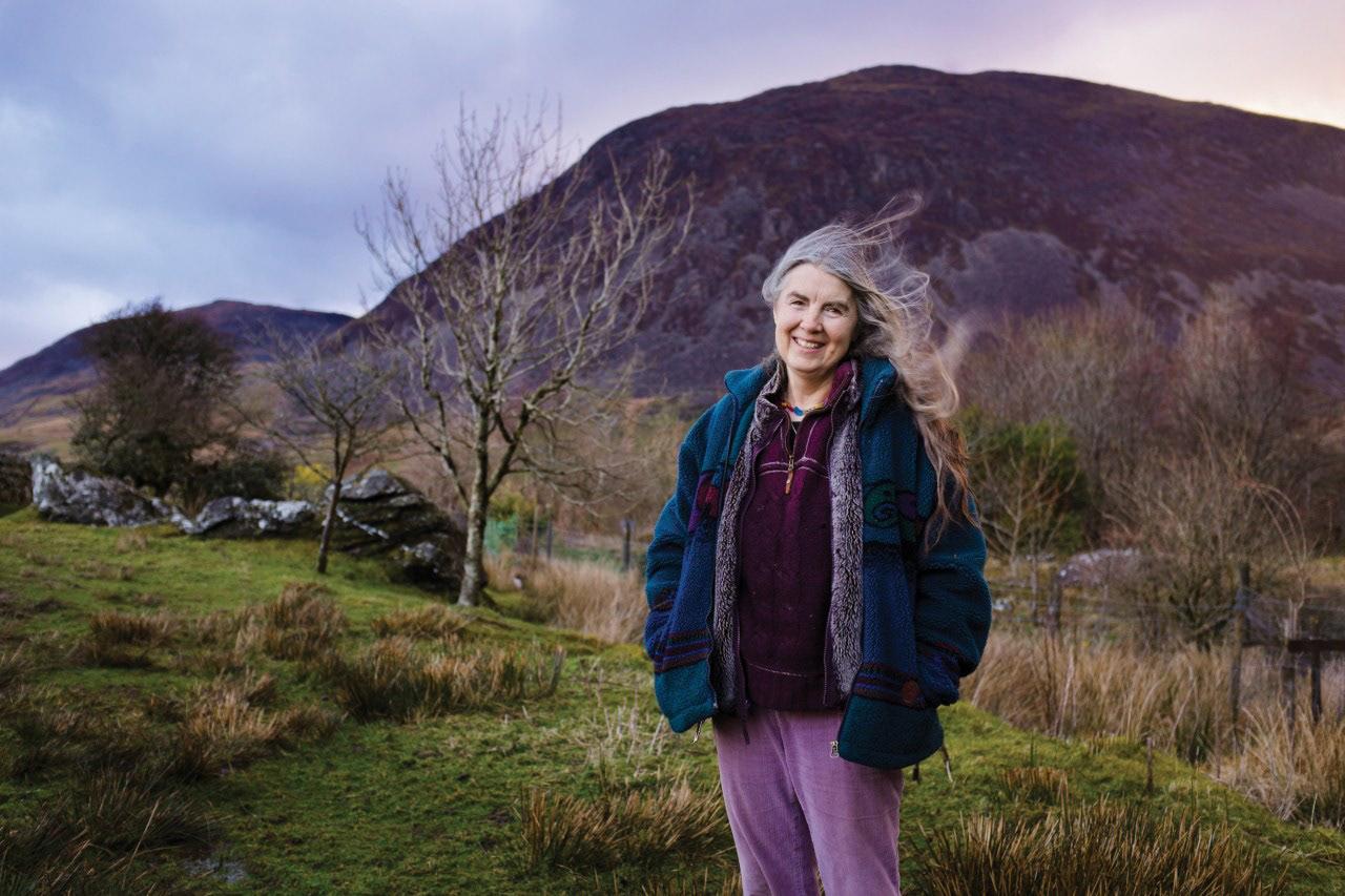 Helen in Snowdonia, Wales