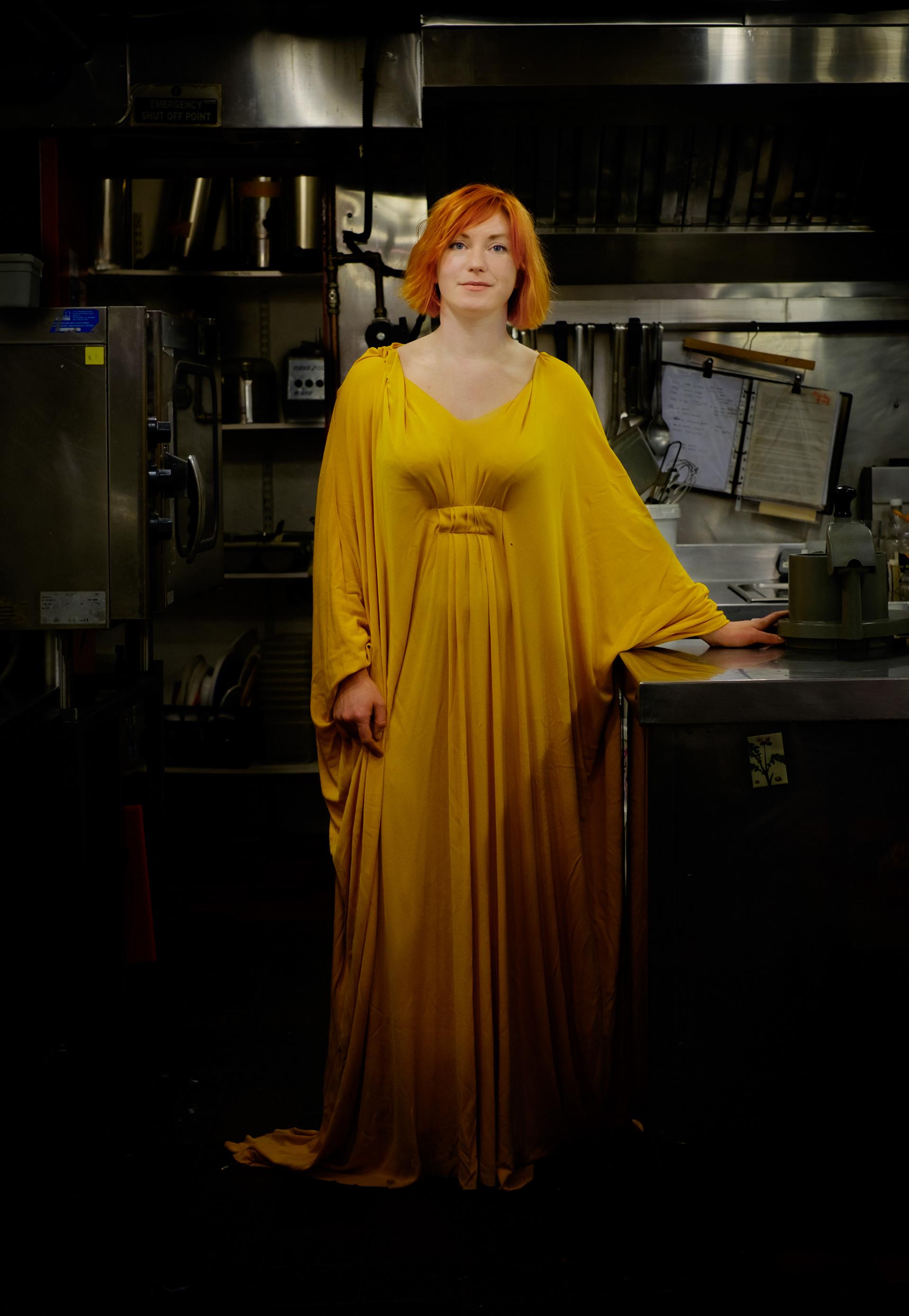 Jennie Moran, artist.