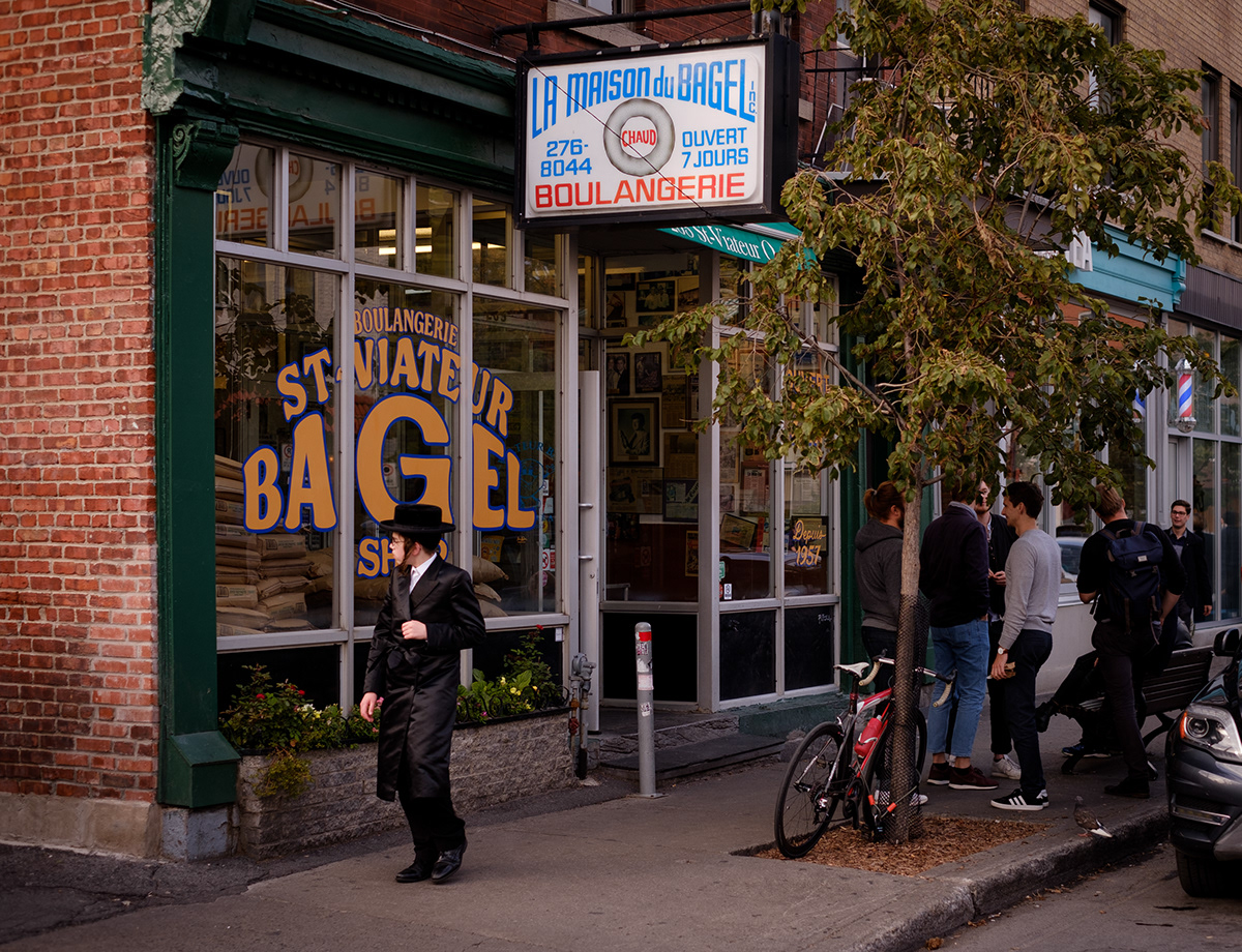 Always bagel o'clock at Mile End's St-Viateur.